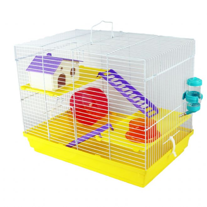 Pet Ting Yellow Sunflower Rodent Cage